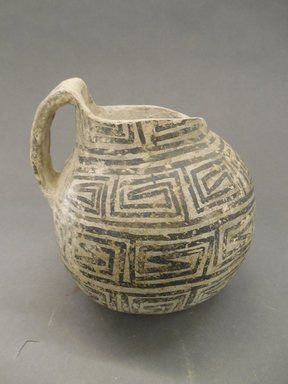 She-we-na (Zuni Pueblo). <em>Pitcher</em>. Clay, 6 x 6 3/8 in. (15.2 x 16.2 cm). Brooklyn Museum, Museum Expedition 1904, Museum Collection Fund, 04.297.5292. Creative Commons-BY (Photo: Brooklyn Museum, CUR.04.297.5292_view1.jpg)