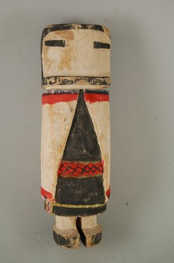 Hopi Pueblo. <em>Kachina Doll (Sio [Zuni] Ana Katcina)</em>. Wood, pigment Brooklyn Museum, Museum Expedition 1904, Museum Collection Fund, 04.297.5541. Creative Commons-BY (Photo: Brooklyn Museum, CUR.04.297.5541_front.jpg)