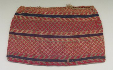 Hochunk. <em>Woven Bags</em>, mid-19th century. Cotton, wool, vegetal fiber, 35 x 54 cm. Brooklyn Museum, Museum Expedition 1904, Museum Collection Fund, 04.297.6957. Creative Commons-BY (Photo: Brooklyn Museum, CUR.04.297.6957_view1.jpg)