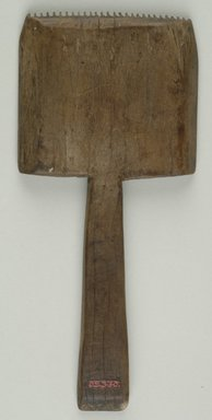 <em>Weaver's Comb</em>. Wood, 6 5/8 in. (16.8 cm). Brooklyn Museum, Charles Edwin Wilbour Fund, 05.330. Creative Commons-BY (Photo: Brooklyn Museum (in collaboration with Index of Christian Art, Princeton University), CUR.05.330_ICA.jpg)