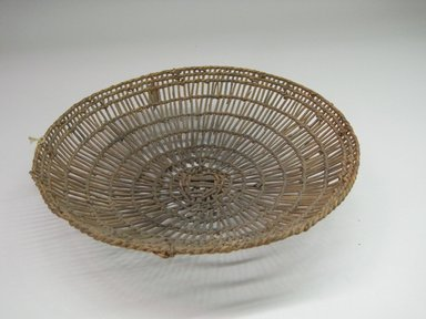 Hupa. <em>Basket Tray</em>. Fiber, 10 1/16 × 10 1/4 × 9 3/4 in. (25.5 × 26 × 24.8 cm). Brooklyn Museum, Museum Expedition 1905, Museum Collection Fund, 05.588.7453. Creative Commons-BY (Photo: Brooklyn Museum, CUR.05.588.7453.jpg)