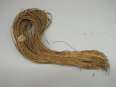 Hupa. <em>Basket Material</em>. Alder root, 5 1/2 × 1 3/4 × 10 1/2 in. (14 × 4.4 × 26.7 cm). Brooklyn Museum, Museum Expedition 1905, Museum Collection Fund, 05.588.7456. Creative Commons-BY (Photo: Brooklyn Museum, CUR.05.588.7456.jpg)