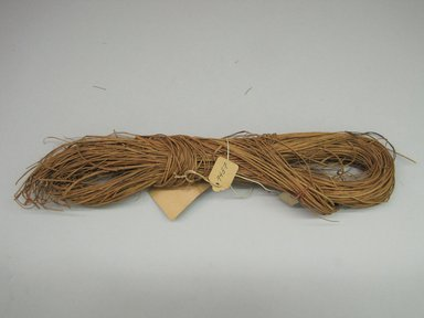Hupa. <em>Basket Material</em>. Willow root, 1 7/16 × 3 1/4 × 12 3/4 in. (3.7 × 8.3 × 32.4 cm). Brooklyn Museum, Museum Expedition 1905, Museum Collection Fund, 05.588.7457. Creative Commons-BY (Photo: Brooklyn Museum, CUR.05.588.7457.jpg)