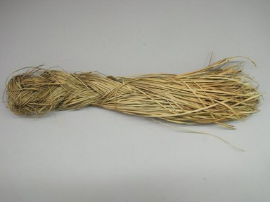 Hupa. <em>Basket Material</em>. Grass, 3 1/2 × 2 × 15 1/4 in. (8.9 × 5.1 × 38.7 cm). Brooklyn Museum, Museum Expedition 1905, Museum Collection Fund, 05.588.7458. Creative Commons-BY (Photo: Brooklyn Museum, CUR.05.588.7458.jpg)
