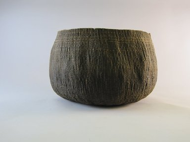 Hupa. <em>Boiling Basket</em>, 20th century. Fiber, 7 1/16 × 11 1/2 × 11 1/4 in. (17.9 × 29.2 × 28.6 cm). Brooklyn Museum, Museum Expedition 1905, Museum Collection Fund, 05.588.7521. Creative Commons-BY (Photo: Brooklyn Museum, CUR.05.588.7521.jpg)
