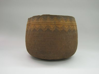 Yurok. <em>Boiling Basket</em>. Plant fiber, 10 1/8 × 12 1/2 × 12 1/2 in. (25.7 × 31.8 × 31.8 cm). Brooklyn Museum, Museum Expedition 1905, Museum Collection Fund, 05.588.7536. Creative Commons-BY (Photo: Brooklyn Museum, CUR.05.588.7536.jpg)