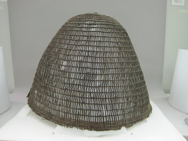 Yurok (probably). <em>Burden Basket</em>. Wood, 23 3/4 × 28 7/8 × 30 1/8 in. (60.3 × 73.3 × 76.5 cm). Brooklyn Museum, Museum Expedition 1905, Museum Collection Fund, 05.588.7545. Creative Commons-BY (Photo: Brooklyn Museum, CUR.05.588.7545.jpg)