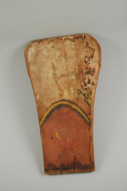 Ko-Tyit (Cochiti Pueblo). <em>Image</em>. Wood, pigment, 3/8 x 7 1/16 x 12 1/16 in.  (1.0 x 18.0 x 30.7 cm). Brooklyn Museum, Museum Expedition 1905, Museum Collection Fund, 05.588.7644. Creative Commons-BY (Photo: Brooklyn Museum, CUR.05.588.7644_front.jpg)
