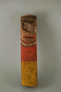 Pueblo, Keres. <em>Image</em>. Wood, pigment, string, 12 x 2 13/16 in.  (30.5 x 7.2 cm). Brooklyn Museum, Museum Expedition 1905, Museum Collection Fund, 05.588.7647. Creative Commons-BY (Photo: Brooklyn Museum, CUR.05.588.7647_front.jpg)