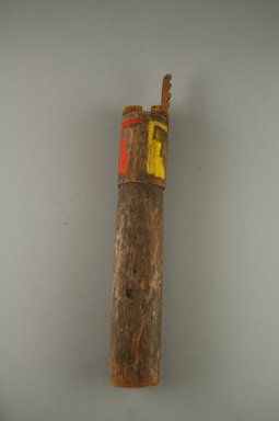 Ko-Tyit (Cochiti Pueblo). <em>Female Image (Oaka)</em>. Wood, pigment, 10 1/2 x 1 3/4 x 1 1/2 in.  (26.7 x 4.4 x 3.8 cm). Brooklyn Museum, Museum Expedition 1905, Museum Collection Fund, 05.588.7686. Creative Commons-BY (Photo: Brooklyn Museum, CUR.05.588.7686_front.jpg)