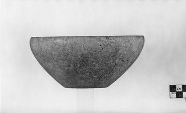 <em>Bowl</em>, ca. 3100-2675 B.C.E. or ca. 2675-2170 B.C.E. Limestone, 3 1/8 x Diam. 7 1/16 in. (7.9 x 18 cm). Brooklyn Museum, Charles Edwin Wilbour Fund, 07.447.145. Creative Commons-BY (Photo: Brooklyn Museum, CUR.07.447.145_negA_print.jpg)