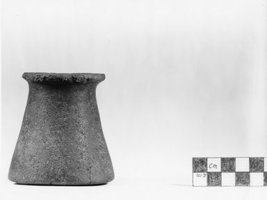 <em>Conical Vase: Libyan Type</em>, ca. 3800-3500 B.C.E. Basalt, 3 1/16 x Diam. 2 15/16 in. (7.8 x 7.5 cm). Brooklyn Museum, Charles Edwin Wilbour Fund, 07.447.192. Creative Commons-BY (Photo: Brooklyn Museum, CUR.07.447.192_negA_print.jpg)