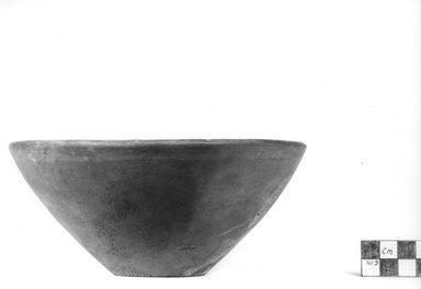 <em>Bowl</em>, ca. 3500-3300 B.C.E. Clay, height: 2 7/8 in. Brooklyn Museum, Charles Edwin Wilbour Fund, 07.447.306. Creative Commons-BY (Photo: Brooklyn Museum, CUR.07.447.306_NegA_print_bw.jpg)