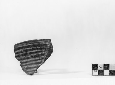 <em>Pottery Fragment</em>, ca. 3800-3500 B.C.E. Clay, Greatest length: 2 7/8 in. (7.3 cm). Brooklyn Museum, Charles Edwin Wilbour Fund, 07.447.405. Creative Commons-BY (Photo: Brooklyn Museum, CUR.07.447.405_negA_print.jpg)