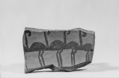 <em>Pottery Fragment</em>, ca. 3500-3300 B.C.E. Clay, 2 11/16 x 1 11/16 x 5/16 in. (6.9 x 4.3 x 0.8 cm). Brooklyn Museum, Charles Edwin Wilbour Fund, 07.447.408. Creative Commons-BY (Photo: Brooklyn Museum, CUR.07.447.408_negA_print.jpg)