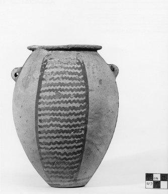 <em>Ovoid Vase</em>, ca. 3500 B.C.E.-3300 B.C.E. Clay, 7 1/2 x Diam. 5 13/16 in. (19.1 x 14.7 cm) . Brooklyn Museum, Charles Edwin Wilbour Fund, 07.447.442. Creative Commons-BY (Photo: Brooklyn Museum, CUR.07.447.442_negB_print.jpg)