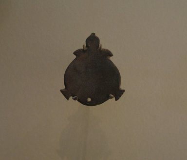 <em>Palette or Amulet in the Shape of a Turtle</em>, ca. 3500-3300 B.C.E. Graywacke, 1 15/16 x 1 3/4 in. (5 x 4.4 cm). Brooklyn Museum, Charles Edwin Wilbour Fund, 07.447.619. Creative Commons-BY (Photo: Brooklyn Museum, CUR.07.447.619_erg456.jpg)