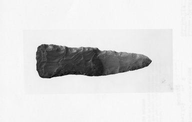 <em>Bifacial Chisel</em>, ca. 3800-3500 B.C.E. Flint, 1 1/8 x 3 3/4 in. (2.8 x 9.6 cm). Brooklyn Museum, Charles Edwin Wilbour Fund, 07.447.808. Creative Commons-BY (Photo: Brooklyn Museum, CUR.07.447.808_negA_print.jpg)