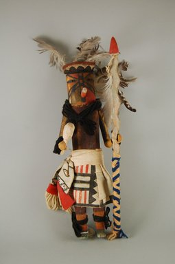 She-we-na (Zuni Pueblo). <em>Kachina Doll (Wilo Lona Kokoh)</em>, late 19th century. wood Brooklyn Museum, Museum Expedition 1907, Museum Collection Fund, 07.467.8432. Creative Commons-BY (Photo: Brooklyn Museum, CUR.07.467.8432_front.jpg)