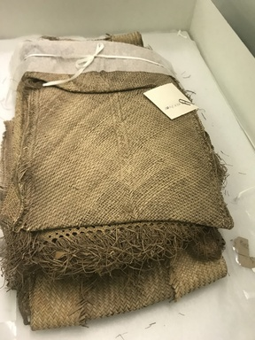 ni-Vanuatu. <em>Mat</em>, late 19th century. Fiber, 37 x 11 1/2 in. (94 x 29.2 cm). Brooklyn Museum, By exchange, 07.468.9408. Creative Commons-BY (Photo: , CUR.07.468.9408_overall.jpg)