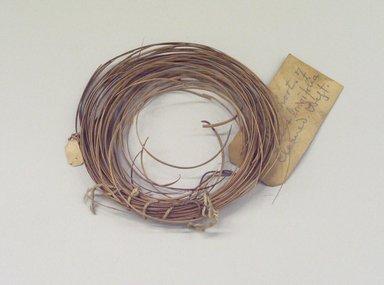 Shoshone. <em>Split Shoots of Salix Longifolia Weft Material</em>. Salix Longifolia Brooklyn Museum, By exchange, 07.468.9456. Creative Commons-BY (Photo: Brooklyn Museum, CUR.07.468.9456.jpg)