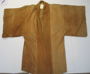 <em>Man's Coat</em>, 19th century. Wool, silk, 49 3/16 x 160 5/8 in. (125 x 408 cm). Brooklyn Museum, 09.784. Creative Commons-BY (Photo: Brooklyn Museum, CUR.09.784.jpg)
