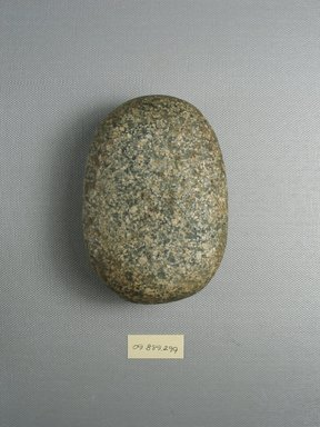 <em>Stone with Oblong Corners</em>. Granite, 3 x 1 9/16 x 4 5/16 in. (7.6 x 3.9 x 10.9 cm). Brooklyn Museum, Charles Edwin Wilbour Fund, 09.889.299. Creative Commons-BY (Photo: Brooklyn Museum, CUR.09.889.299_view1.jpg)