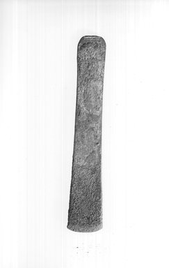 <em>Long Chisel</em>, ca. 3100-2675 B.C.E. Copper or bronze, 1 1/4 x 1/4 x 7 1/16 in. (3.1 x 0.7 x 18 cm). Brooklyn Museum, Charles Edwin Wilbour Fund, 09.889.336. Creative Commons-BY (Photo: Brooklyn Museum, CUR.09.889.336_print_negA_bw.jpg)