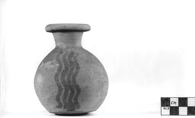 <em>Globular Bottle</em>, ca. 4400-3100 B.C.E. Terracotta Brooklyn Museum, Charles Edwin Wilbour Fund, 09.889.430. Creative Commons-BY (Photo: Brooklyn Museum, CUR.09.889.430_NegA_print_bw.jpg)