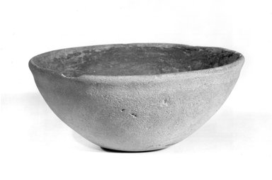<em>Hemispheric Bowl</em>. Terracotta, Diameter: 6 in. (15.2 cm). Brooklyn Museum, Charles Edwin Wilbour Fund, 09.889.480. Creative Commons-BY (Photo: Brooklyn Museum, CUR.09.889.480_NegC_print_bw.jpg)