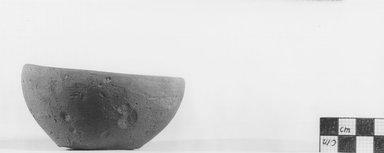 <em>Small Cup</em>, ca. 4400-3100 B.C.E. Terracotta, Diam. 3 1/2 in. (8.9 cm). Brooklyn Museum, Charles Edwin Wilbour Fund, 09.889.504. Creative Commons-BY (Photo: Brooklyn Museum, CUR.09.889.504_NegA_print_bw.jpg)