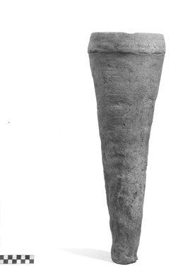 <em>Storage Pot</em>. Terracotta, Height: 20 3/4 in. (52.7 cm). Brooklyn Museum, Charles Edwin Wilbour Fund, 09.889.750. Creative Commons-BY (Photo: Brooklyn Museum, CUR.09.889.750_NegA_print_bw.jpg)