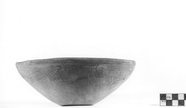 <em>Deep Bowl</em>. Terracotta, Height: 3 1/8 in. (7.9 cm). Brooklyn Museum, Charles Edwin Wilbour Fund, 09.889.794. Creative Commons-BY (Photo: Brooklyn Museum, CUR.09.889.794_NegA_print_bw.jpg)