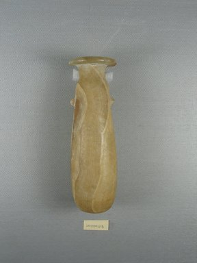 <em>Alabastron</em>. Egyptian alabaster (calcite), 6 7/16 x Greatest Diam. 2 in. (16.4 x 5.1 cm). Brooklyn Museum, Charles Edwin Wilbour Fund, 09.889.93. Creative Commons-BY (Photo: Brooklyn Museum, CUR.09.889.93_view1.jpg)