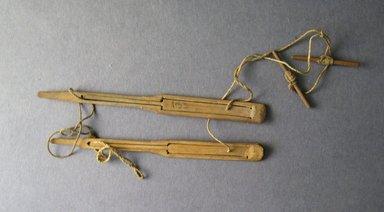 Ainu. <em>Jew's Harp</em>. Wood, 3/8 x 5 1/16 in. (1 x 12.8 cm). Brooklyn Museum, Gift of Herman Stutzer, 12.169a. Creative Commons-BY (Photo: Brooklyn Museum, CUR.12.169a.jpg)
