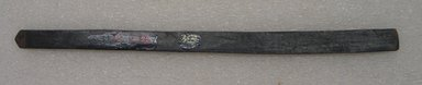 Ainu. <em>Long Narrow Prayer Stick</em>. Wood, 9/16 x 10 9/16 in. (1.5 x 26.9 cm). Brooklyn Museum, Gift of Herman Stutzer, 12.296. Creative Commons-BY (Photo: Brooklyn Museum, CUR.12.296_bottom.jpg)