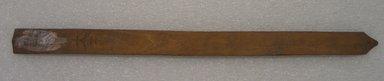 Ainu. <em>Long Natural Prayer Stick</em>. Wood, 13/16 x 12 3/16 in. (2 x 31 cm). Brooklyn Museum, Gift of Herman Stutzer, 12.304. Creative Commons-BY (Photo: Brooklyn Museum, CUR.12.304_bottom.jpg)