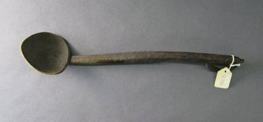 Ainu. <em>Ladle or Spoon with Handle</em>. Wood Brooklyn Museum, Gift of Herman Stutzer, 12.370. Creative Commons-BY (Photo: Brooklyn Museum, CUR.12.370.jpg)
