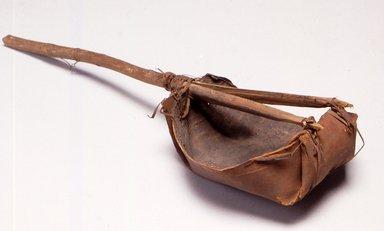 Ainu. <em>Bailer or Scoop</em>. Bark Brooklyn Museum, Gift of Herman Stutzer, 12.376. Creative Commons-BY (Photo: Brooklyn Museum, CUR.12.376.jpg)