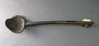 Ainu. <em>Ladle with Long Handle</em>. Wood Brooklyn Museum, Gift of Herman Stutzer, 12.377. Creative Commons-BY (Photo: Brooklyn Museum, CUR.12.377.jpg)