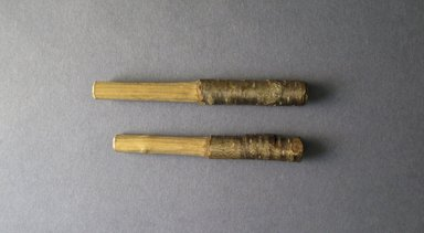 Ainu. <em>Stick</em>. Wood, 3/8 x 4 3/16 in. (1 x 10.6 cm). Brooklyn Museum, Museum Expedition 1912, Purchased with funds given by Herman Stutzer, 12.469b. Creative Commons-BY (Photo: Brooklyn Museum, CUR.12.469b.jpg)