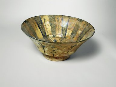 <em>Bowl</em>, 13th century. Ceramic, 3 7/8 x 8 1/2 in. (9.8 x 21.6 cm). Brooklyn Museum, Gift of Robert B. Woodward, 12.52. Creative Commons-BY (Photo: Brooklyn Museum, CUR.12.52_exterior.jpg)