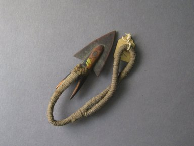 Ainu. <em>Harpoon Point</em>. Metal and bone, 1 3/8 x 10 1/16 in. (3.5 x 25.5 cm). Brooklyn Museum, Gift of Herman Stutzer, 12.617. Creative Commons-BY (Photo: Brooklyn Museum, CUR.12.617.jpg)