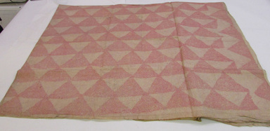 Hawaiian. <em>Tapa (Kapa moe)</em>, mid 19th-early 20th century. Barkcloth, pigment, 135 7/16 x 86 5/8 in. (344 x 220 cm). Brooklyn Museum, Brooklyn Museum Collection, 14.11. Creative Commons-BY (Photo: , CUR.14.11_view01.jpg)