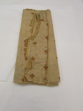 Hawaiian. <em>Tapa (Kapa)</em>, mid 19th-early 20th century. Barkcloth, pigment, 85 1/16 x 74 7/16 in. (216 x 189 cm). Brooklyn Museum, Brooklyn Museum Collection, 14.20. Creative Commons-BY (Photo: , CUR.14.20_overall.jpg)