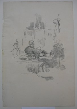 James Abbott McNeill Whistler (American, 1834-1903). <em>Late Picquet</em>, 1894. Lithograph, 11 7/8 x 8 1/8 in. (30.2 x 20.6 cm). Brooklyn Museum, Gift of the Rembrandt Club, 15.398 (Photo: Brooklyn Museum, CUR.15.398.jpg)
