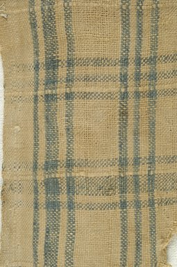 Coptic. <em>Fragment of Plain Cloth Weave</em>, 5th-6th century C.E. Linen, 2 1/2 x 6 in. (6.4 x 15.2 cm). Brooklyn Museum, Gift of the Egypt Exploration Fund, 15.474d. Creative Commons-BY (Photo: Brooklyn Museum (in collaboration with Index of Christian Art, Princeton University), CUR.15.474D_detail01_ICA.jpg)