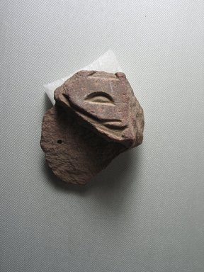 <em>Part of Nefertiti's Titulary from a Base</em>, ca. 1352-1336 B.C.E. Quartzite, 1 11/16 x 1 7/8 in. (4.3 x 4.8 cm). Brooklyn Museum, Gift of Evangeline Wilbour Blashfield, Theodora Wilbour, and Victor Wilbour honoring the wishes of their mother, Charlotte Beebe Wilbour, as a memorial to their father, Charles Edwin Wilbour, 16.714. Creative Commons-BY (Photo: Brooklyn Museum, CUR.16.714_view01.jpg)