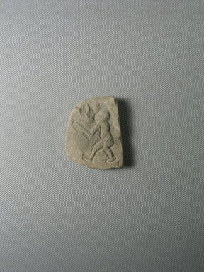 <em>Relief Fragment of Monkey</em>, ca. 1352-1336 B.C.E. Limestone, 1 15/16 × 1 9/16 × 3/8 in. (4.9 × 3.9 × 1 cm). Brooklyn Museum, Gift of Evangeline Wilbour Blashfield, Theodora Wilbour, and Victor Wilbour honoring the wishes of their mother, Charlotte Beebe Wilbour, as a memorial to their father, Charles Edwin Wilbour, 16.71. Creative Commons-BY (Photo: , CUR.16.71_view01.jpg)