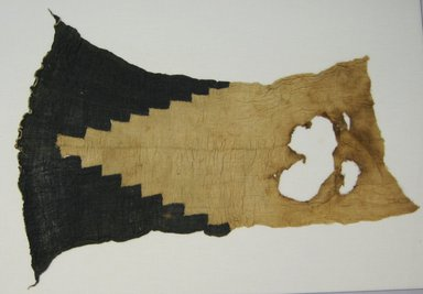 Chimú. <em>Textile Fragments, undetermined or possible Loincloth, Fragments</em>, 1000-1532. Cotton, 21 3/4 × 29 1/2 in. (55.2 × 74.9 cm). Brooklyn Museum, Gift of Richard H. Clarke, 1858. Creative Commons-BY (Photo: Brooklyn Museum, CUR.1858.jpg)